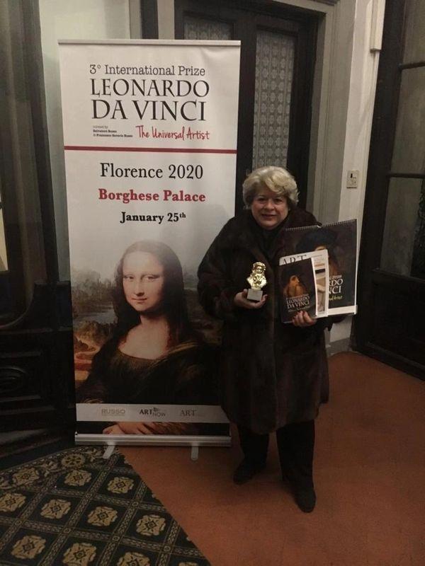 Ceremony for Receiving Leonardo 06